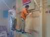 doorbreken muur tbv uitgifte luik